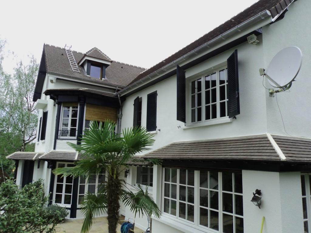 ravalement façade yvelines - artisan callewaert raymond - exemple ravalement façade